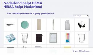 Hema helpt Winkelenensparenblog winkelen-en-sparen NL
