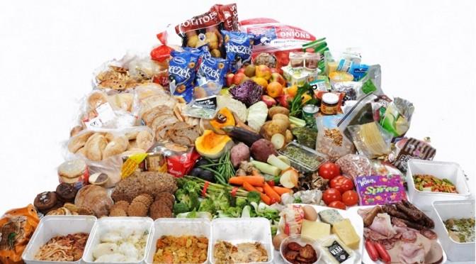 Voedsel verspillen